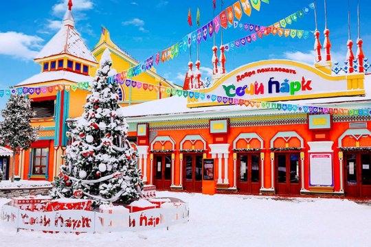 «Сочи Парк Отель» зимой